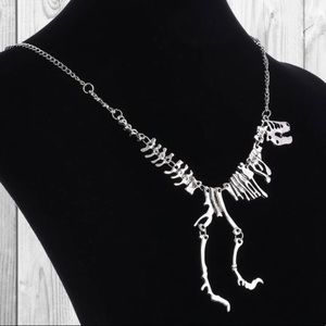 NWT Dinosaur T Rex Necklace